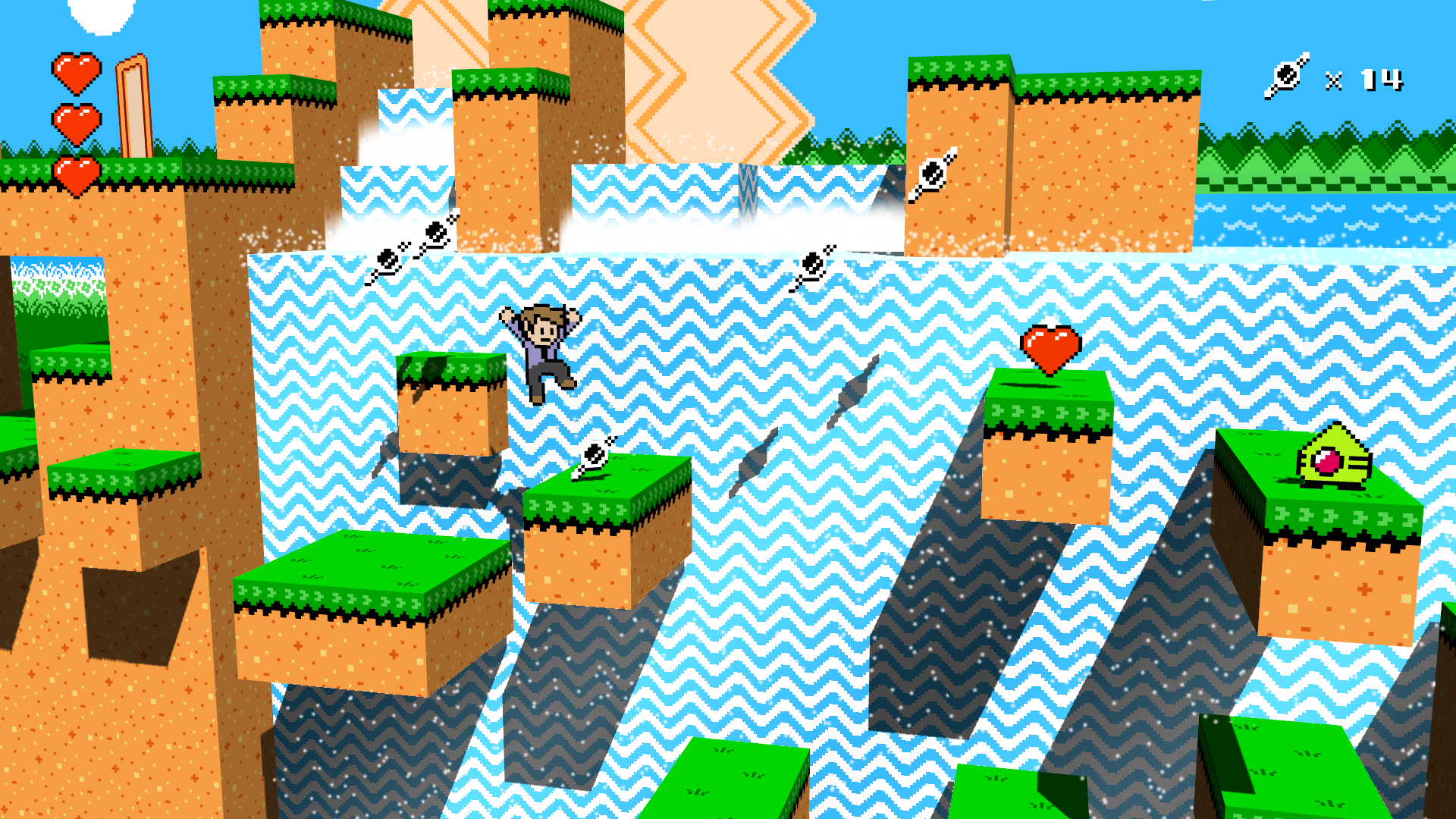 Waterfall Jump Screenshot